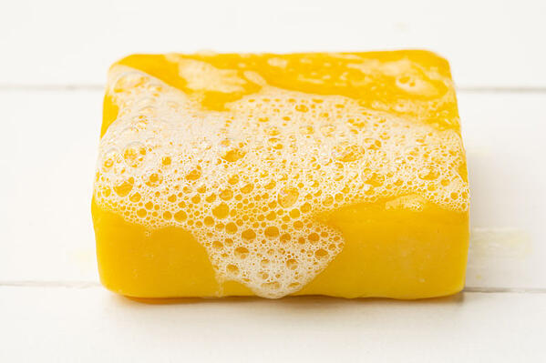Soap made with oleic acid